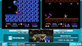 Video Wizards & Warriors by feasel and DarkTerrex in 18:48 - Summer Games Done Quick 2015 - Part 47 MP3, 3GP, MP4, WEBM, AVI, FLV Juni 2019