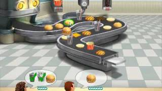 Burger Shop videosu