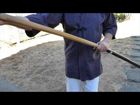 How To Make A Saya For Bokken From Golf Tube!