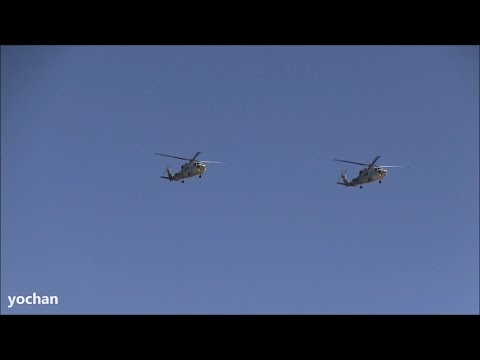 Formation Flight.Mitsubishi SH-60...