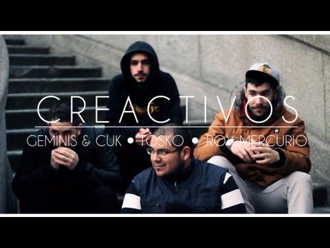 Géminis y Cuk feat. Roy Mercurio y Tosko – «Creactivos» [Videoclip]