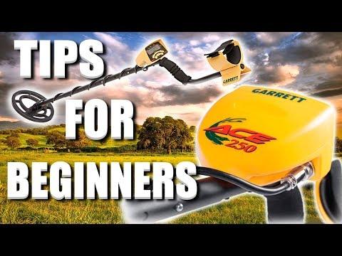 Garrett Ace 250 Metal Detector / Tips For Beginners!