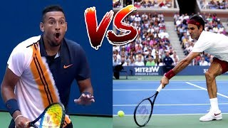 Video The Most Creative Match-Up in Tennis History (Federer VS. Kyrgios) MP3, 3GP, MP4, WEBM, AVI, FLV Maret 2019