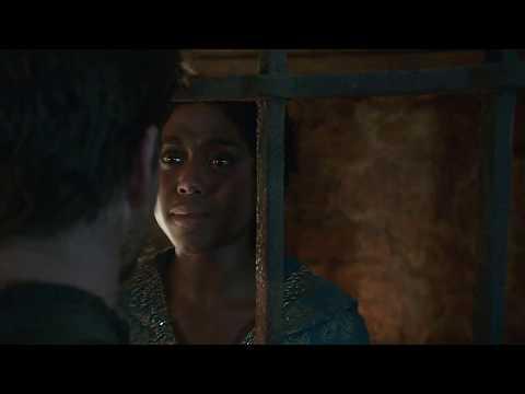 Still Star Crossed 1x07 Rosaline & Benvolio kiss HD