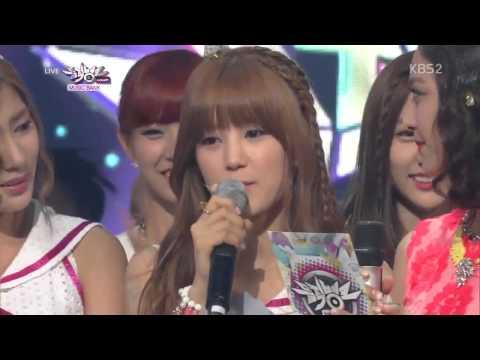 130719 A Pink - NO 1 & Encore @ Music Bank (видео)
