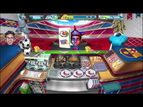 Cooking Fever: Barcelona Sports Bar Levels 21-23