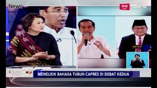 Video Bahasa Tubuh di Debat Kedua, Jokowi Telihat Lebih Serius - iNews Siang 18/02 MP3, 3GP, MP4, WEBM, AVI, FLV Februari 2019