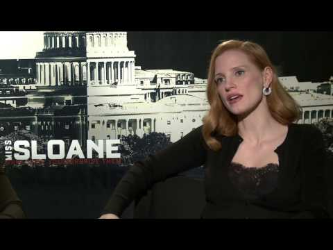 "Interview with Jessica Chastain & Gugu Mbatha For ""Miss Sloane"" Movie"