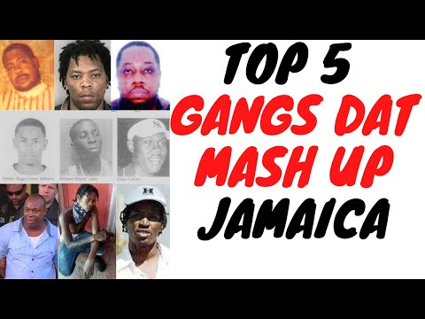 Top 5 Biggest And Most Destructive Gangs In Jamaican History!