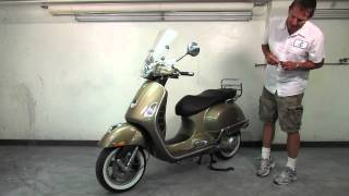 7. 2013 Vespa GTS Bronze Overview