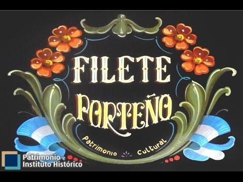 El Filete Porteño es Patrimonio de la Humanidad