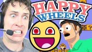 Happy Wheels - CRAZY SMILEY