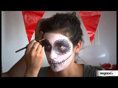 Schmink tutorial Dia de la Muerte