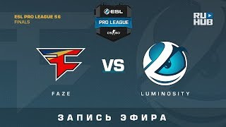 FaZe vs Luminosity - ESL Pro League Finals - de_train [ceh9, CrystalMay]