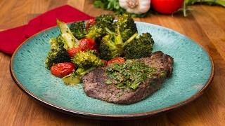 Steak And Pesto Veggies by Tasty