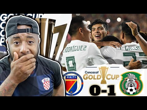 Haiti vs Mexico 0-1 | Raul Jimenez Is A Big Cheat | 2019 Gold Cup Semi-finals
