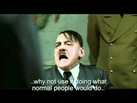 TGtales - Re-uploaded. Originally posted last year, but was taken down by youtube like many other Hitler parodies. It seems it is OK to post these again now, so here y...