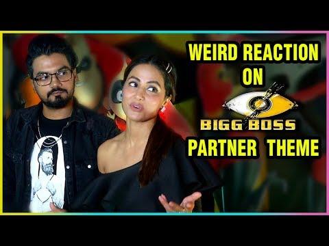 Hina Khan And Rocky Jaiswal Weird Reaction On Bigg
