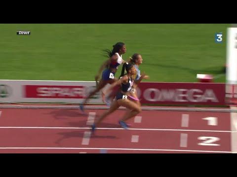她原本落後3名接力賽選手一段距離,但是內心的一個想法…讓她瞬間變身火箭大逆轉!