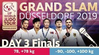 Judo Grand-Slam Düsseldorf 2019: Day 3 - Final Block