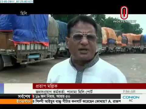 Truck strike in north (23-05-2017)