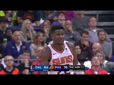 Video: DeAndre Ayton and Luka Doncic Battle In First Career NBA Game | October 17, 2018