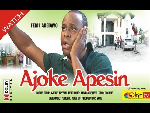 AJOKE APESIN Latest Nollywood Yoruba Drama Movie Femi Adebayo