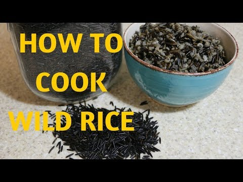 WILD RICE | HOW TO COOK |  Alkaline Electric Dr Sebi Approved