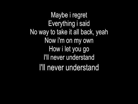 A little too not over you - David Archuleta (with lyrics)