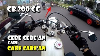 Video CB CB AN CARI CABECABEAN - RIDING HAPPY WITH CB HEREX 200 CC MP3, 3GP, MP4, WEBM, AVI, FLV Juni 2019