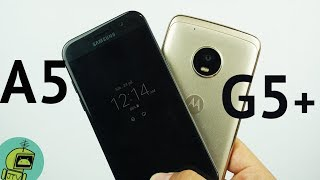 La pregunta del día es: ¿Moto G5 Plus o un Samsung Galaxy A5 2017?Review Moto G5 Plus: https://youtu.be/z4MgvoSsIJA Review Samsung A5 2017: https://youtu.be/0Y7gEMuI_0Q Muchos de ustedes me están preguntando que prefiero, y la verdad si le pensé unas tres veces antes de tener la respuesta. Al día de hoy uso un Samsung Galaxy A5 2017, y no un Moto G5 Plus. Por lo tanto ya sabrán mi respuesta, pero es importante que escuches algunas cosas antes que le faltan al Samsung Galaxy A5 2017 que no tiene el Moto G5 Plus. Por lo tanto, hoy veremos los puntos fuertes del Moto G5 Plus al igual que los del Galaxy A5. Web: http://bit.ly/2dnylpV Página de FaceBook: http://bit.ly/2dRKZ2S Twitter: http://bit.ly/2dC8YUK Google Plus: http://bit.ly/2dnzZHY FaceBook: http://bit.ly/2dRKVAb