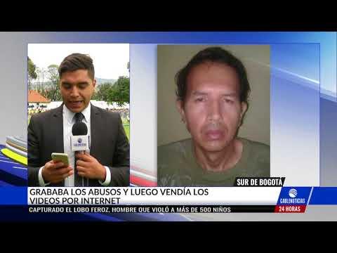 Colombia: Detienen a pedófilo que abusó de 500 niños (VIDEO)