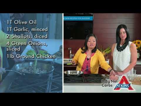 Atkins diet - Bibi's Chicken Lettuce Wraps