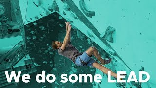 Can Joe conquer his fear of lead climbing? || Boulderingbobat by Bouldering Bobat
