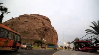Amanecer en Arica. 22 de junio 2015.