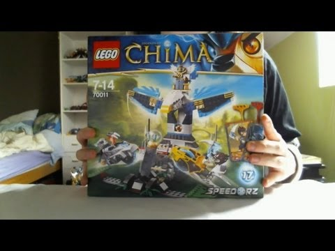 Vidéo LEGO Chima 70011 : La citadelle Aigle