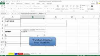 Mr Excel&excelisfun Trick 116: Extract Individual Letters From Cell And Do Lookup Adding, Then...