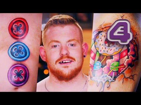 Becoming A Real-Life Gingerbread Man | Tattoo Fixers