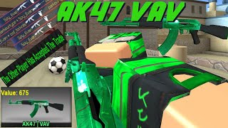 Counter Blox AK-47 VAV Gameplay! (Contraband Skin!)