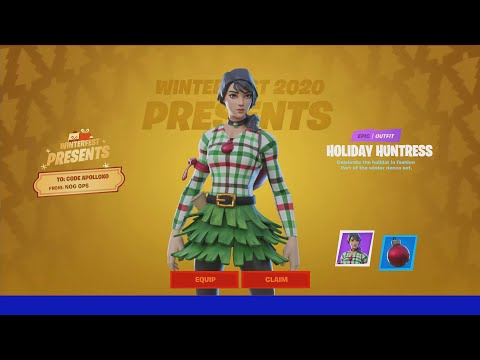 Trolling Youtubers with a FAKE Fortnite Winterfest EVENT!