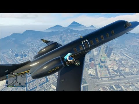 comment prendre l'avion dans gta 4