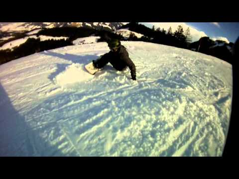 Bloopers snowboarden Day 1