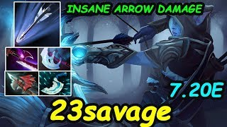 Video 23savage - [Drowranger] Safelane INSANE ARROW DAMAGE 16 years old rising star    Dota2 7.20 Rank MP3, 3GP, MP4, WEBM, AVI, FLV Maret 2019