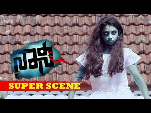 Kannada Scenes   Priyanka starts experiencing evil in the house   Naani Kannada Movie