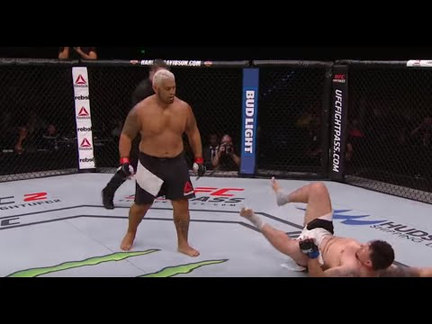 ufc fight night 85: mark hunt vs frank mir - highlights