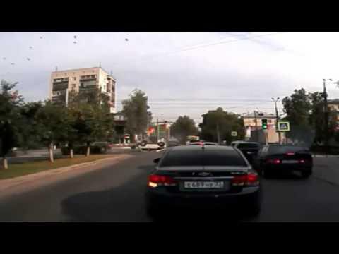 Авария с переворотом во Владимире