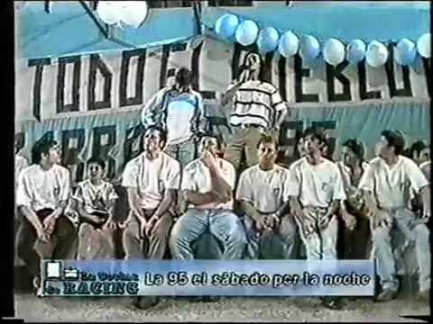 Fiesta Fin de Año 1999 La 95 - La Guardia Imperial - Racing Club - Argentina - América del Sur