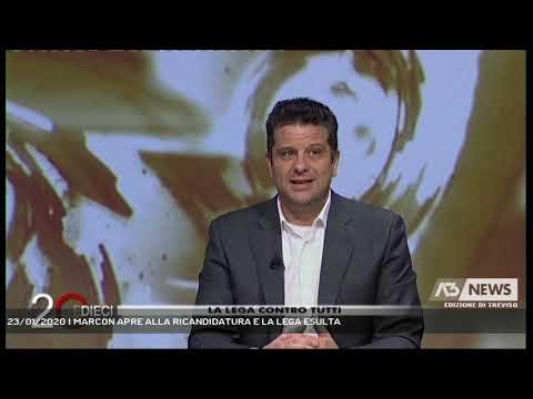 23/01/2020 | MARCON APRE ALLA RICANDIDATURA E LA LEGA ESULTA