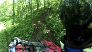 9. ATV Trail Riding (Yamaha Kodiak 450)