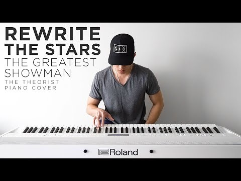 Video The Greatest Showman (Zac Efron & Zendaya) - Rewrite the Stars | The Theorist Piano Cover download in MP3, 3GP, MP4, WEBM, AVI, FLV January 2017